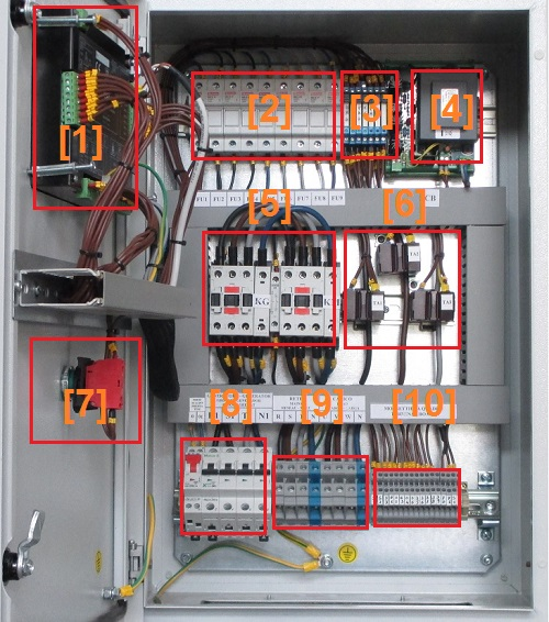 Diesel generator control panel wiring diagram genset controller diesel generator control panel equipped with bek3 asfbconference2016 Gallery