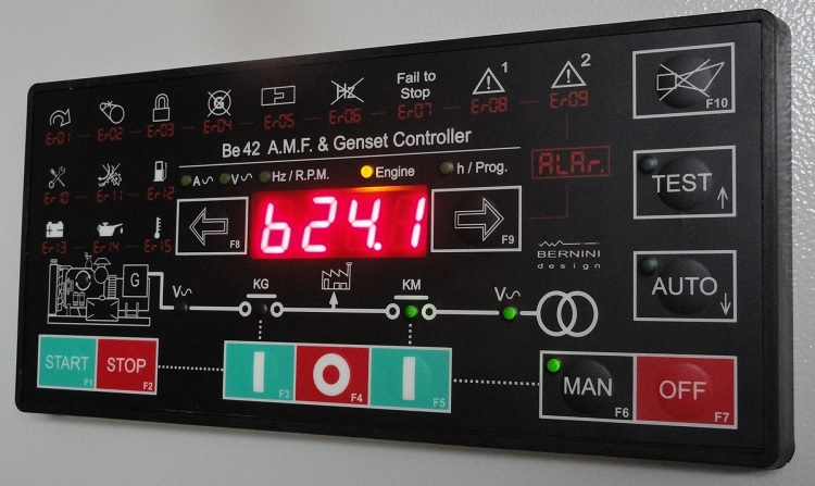 AMF Controller Be42 Front View