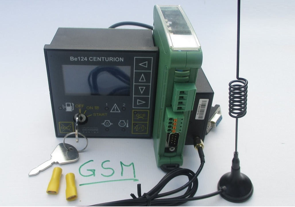 BE124 GSM Based Generator Controller