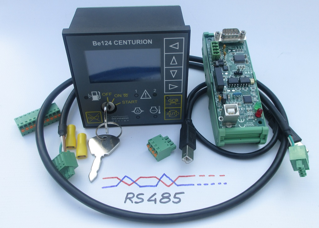 BE124 RS485 Auto Start MODBUS Generator Controller