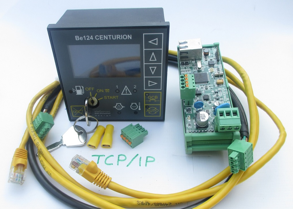 BE124 MODBUS OVER TCP-IP Generator Controller