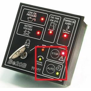 Centralina Gruppo Elettrogeno Be20 Allarme Mancato Avviamento