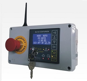 GSM Based Generator Control Unit Be124