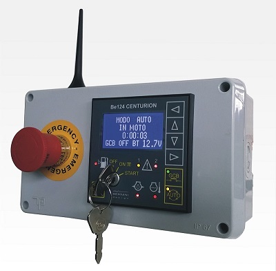 Wireless GSM based diesel engine control panel