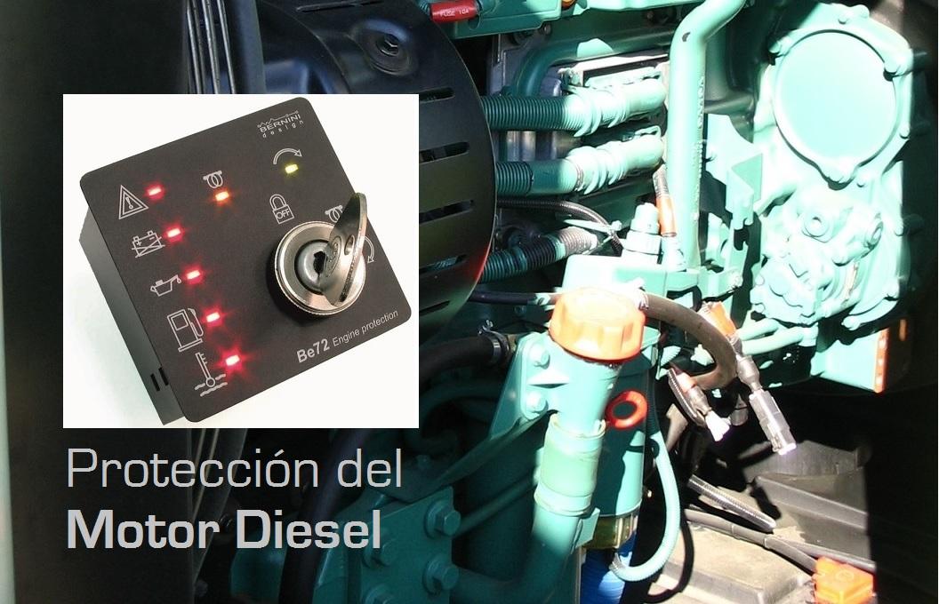 BE72 Protección del motor diesel