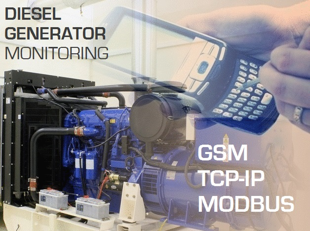 GSM Remote Genset Monitoring Solution