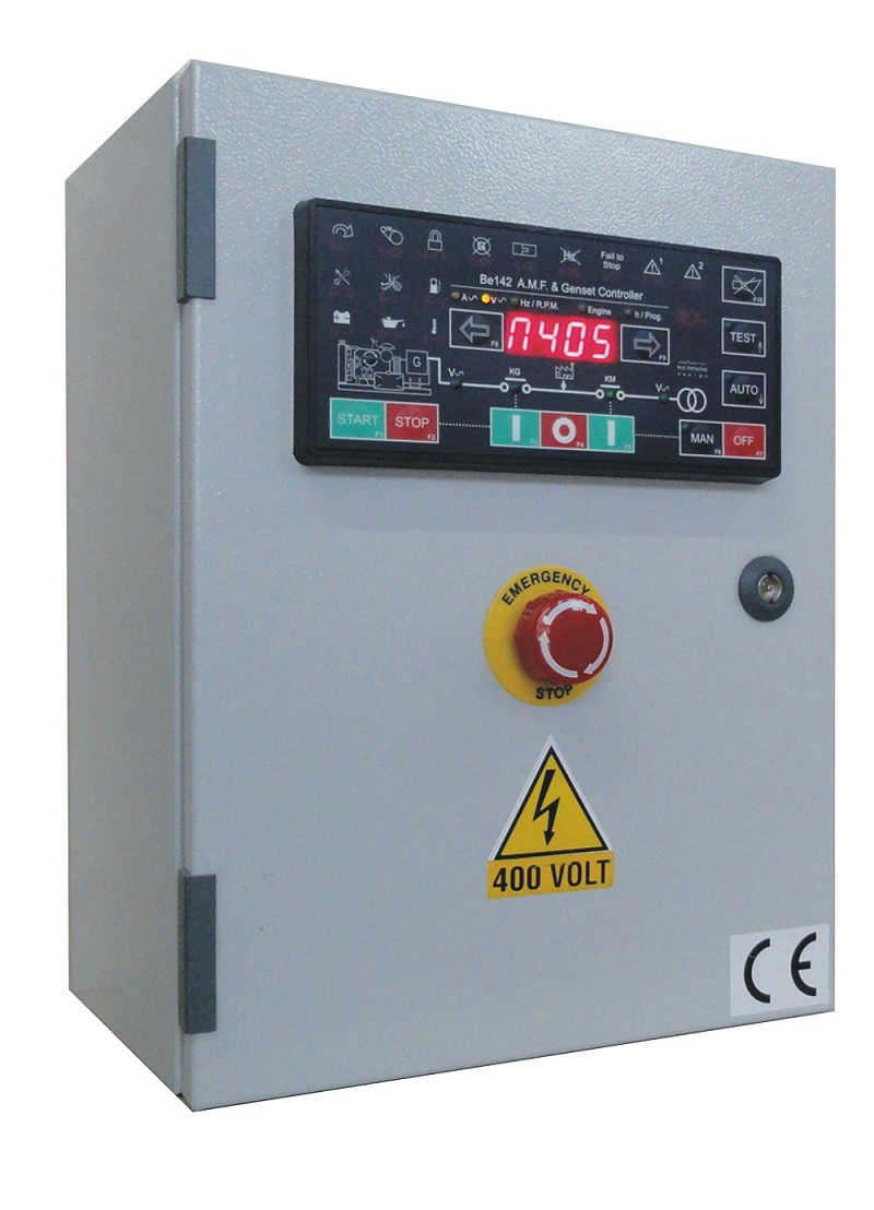 automatic mains failure control panel ndash generator
