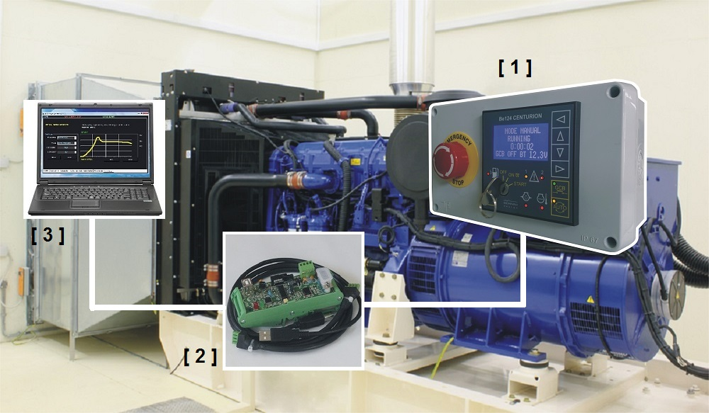 MODBUS Diesel Generator Monitoring Systems