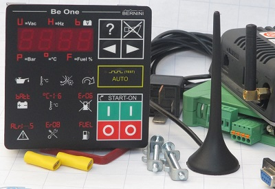 Be1 gsm based generator start stop kit