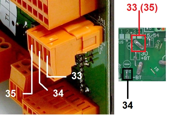 BE23 Power Supply Connection
