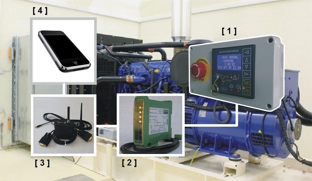 GSM Diesel Generator Monitoring System