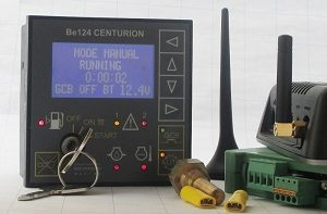GSM Based Generator Start Stop & Monitoring Be124