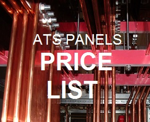 ATS CONTROL PANELS PRICE LIST