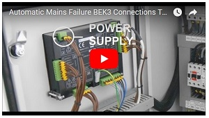 AUTOMATIC MAINS FAILURE CONNECTION TUTORIAL VIDEO