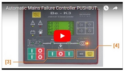 Pushbuttons video link