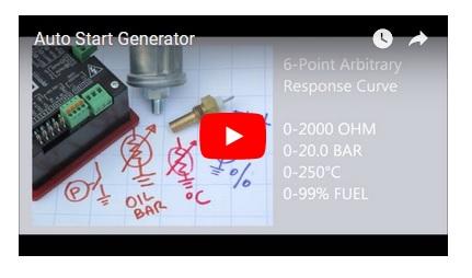 Generator Auto Start Kit