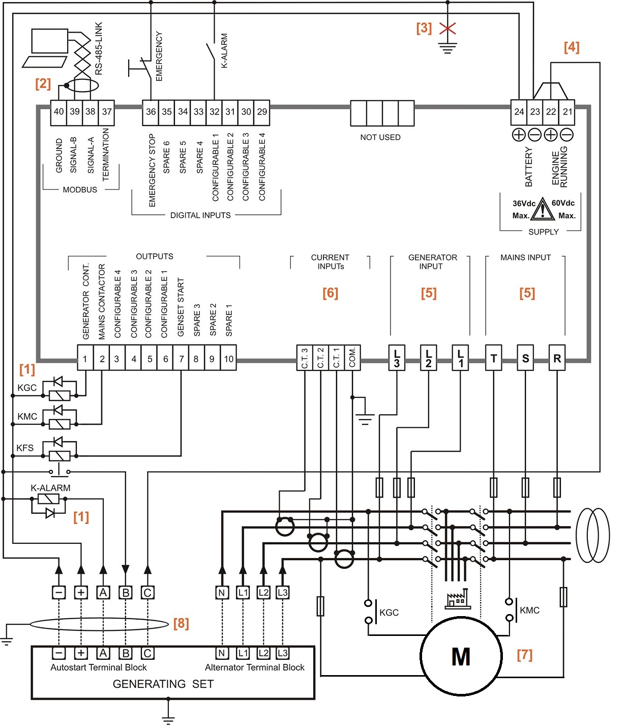 automatic changeover switch for generator circuit diagram ...